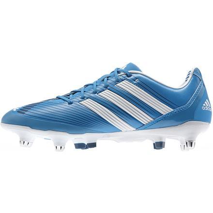 Blanco Adidas Predator Futbol De Zapato Con Azul yYIbf7gm6v