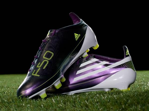 Zapatos De Futbol Adidas F50 Blancos