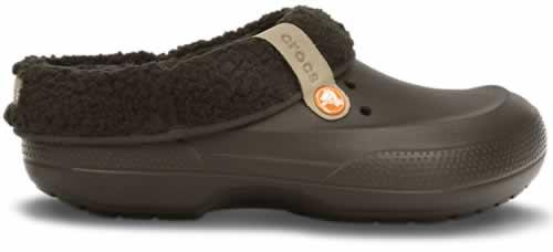 zapatos crocs negros de mujer