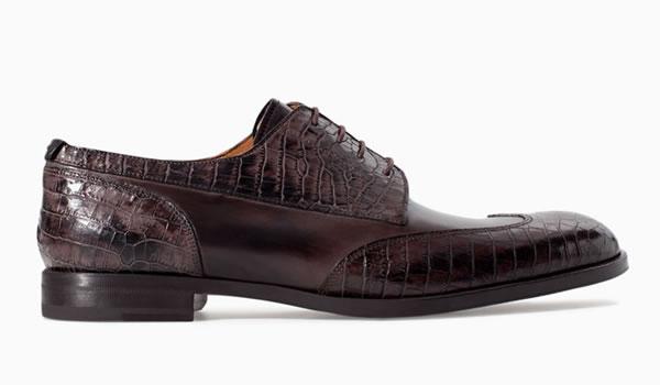 zapatos zara para hombres marrones