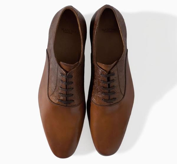 zapatos hombres zara