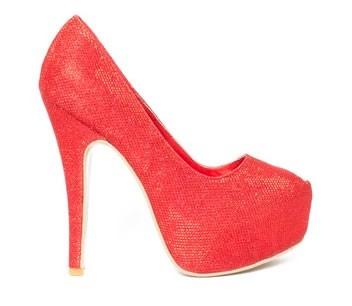 zapatos de fiesta con plataformas