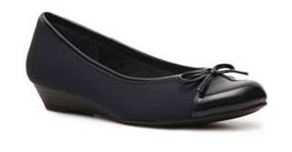 Zapatos de moda bajos negros para mujer