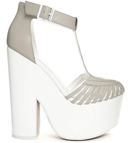 zapatos de mujer a la moda tacones gruesos y plataforma