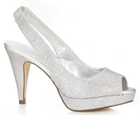 zapatos plateados para fiestas Imagen-02