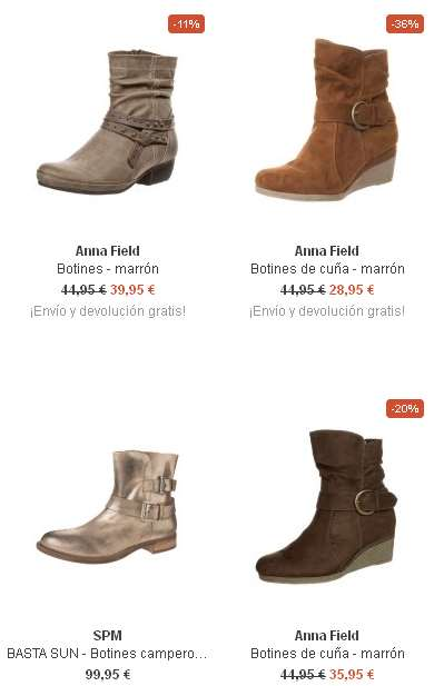 botines de moda para mujer