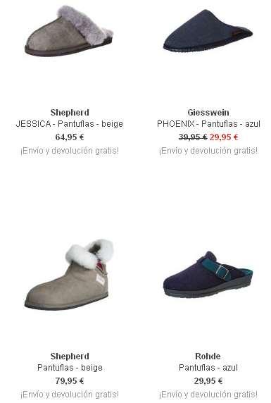 pantuflas moda mujer