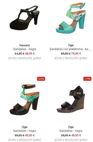 sandalias mujer plataforma