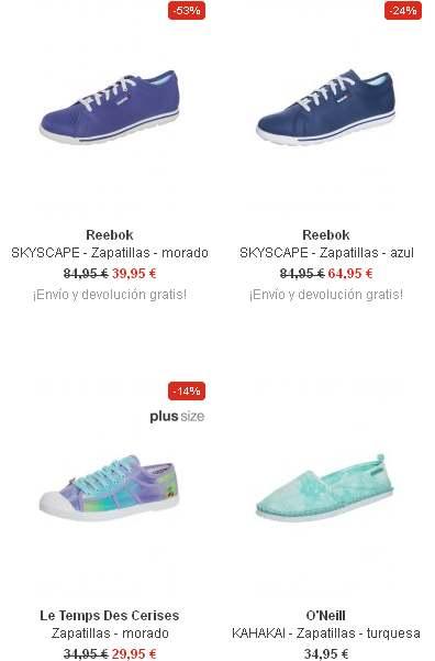 zapatillas bajas mujer moda