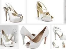 varios modelos zapatos novias