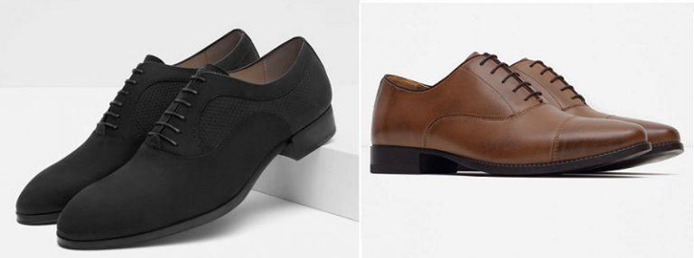 Zapatos tipo ingles de Zara Hombre