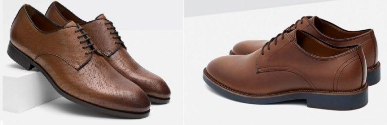Nuevos Zapatos Bluchers de Zara Hombre