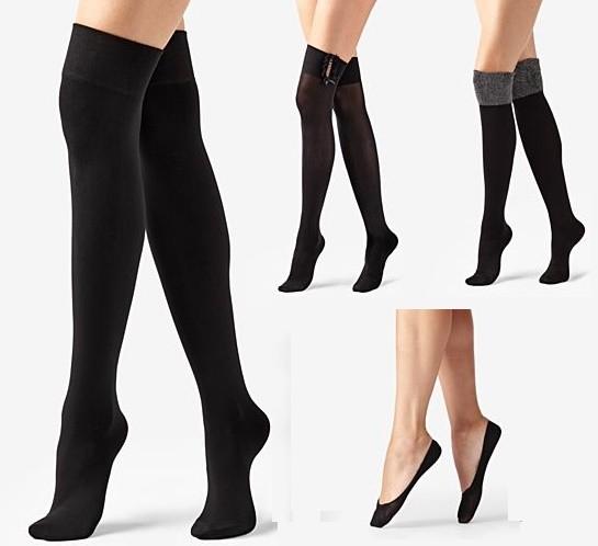 medias y pantis calzedonia, modelos a la rodilla