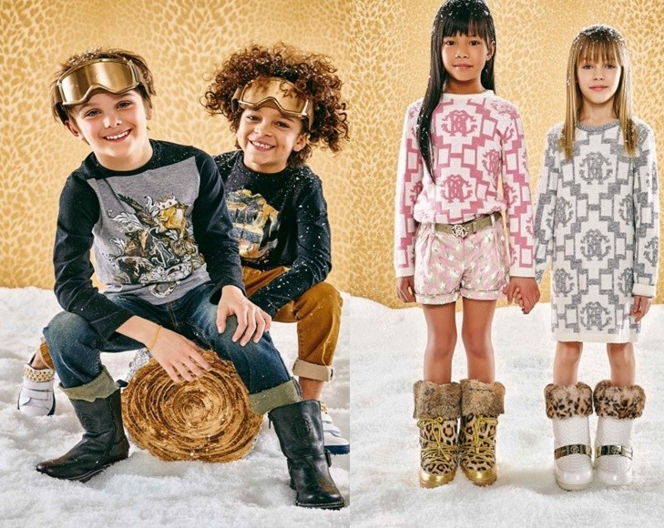 zapatos para niños roberto cavalli junior