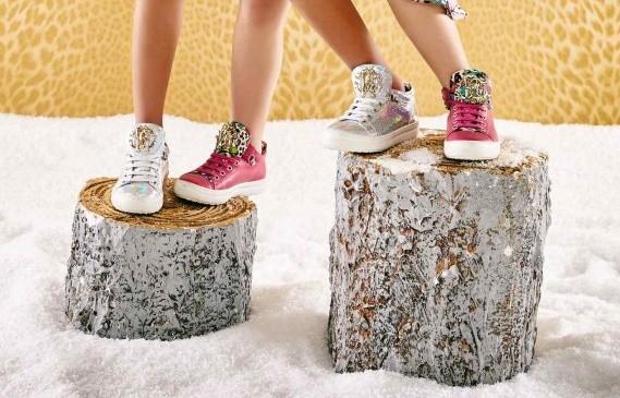 zapatillas de la colección otono-invierndo de Roberto cavalli