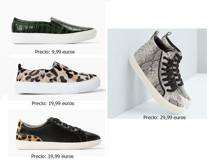 Zapatos de mujer MANGO,zapatillas