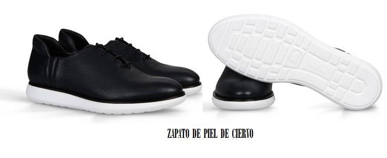 Zapato de piel de ciervo, Armani