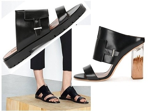 Hugo Boss, linea en zapatos para mujeres