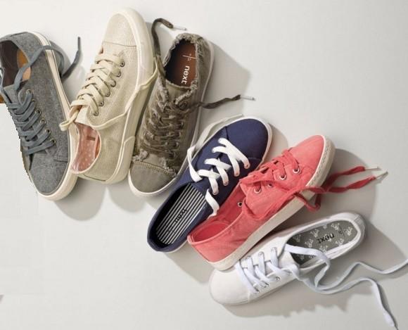 Zapatillas con cordón