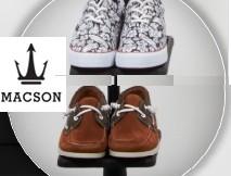 Nuevos modelos Macson ZAPATOS hombre