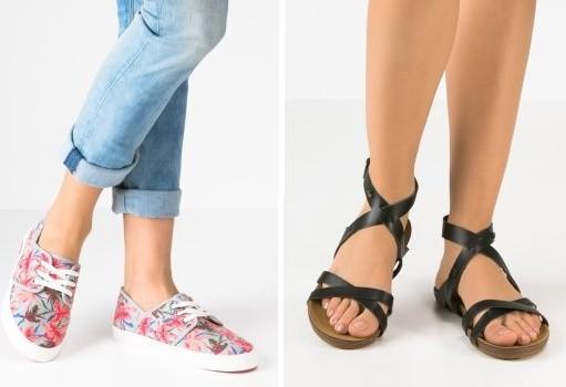 Zapatos Roxy para el verano
