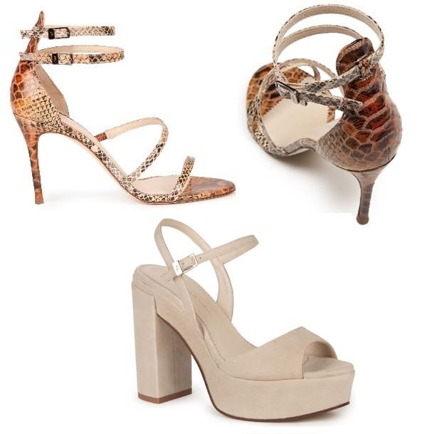 Dos Modelos de sandalias Purificación García