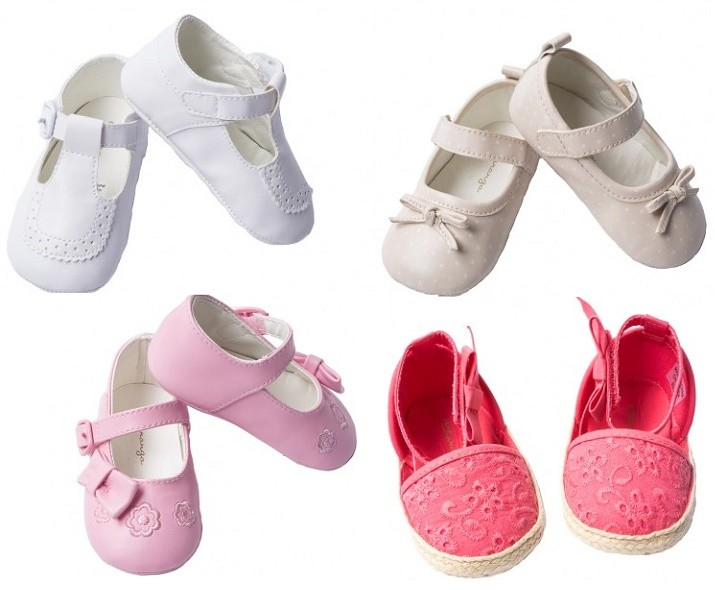 Zapatillas de bebé de Catálogo NIÑAS Charanga