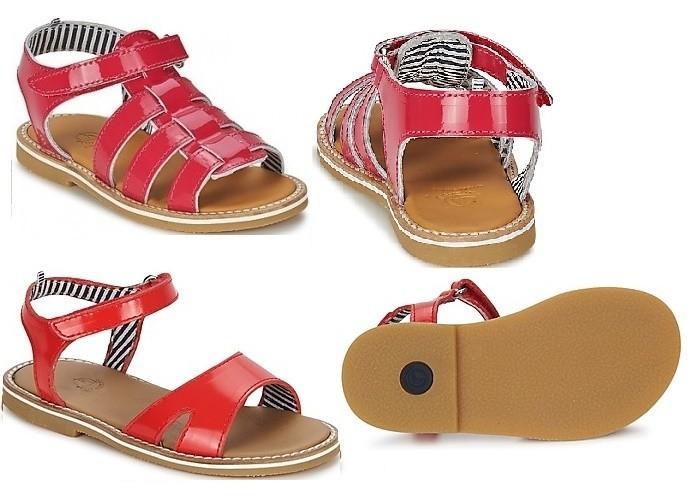 Sandalias para niñas Petit Bateau