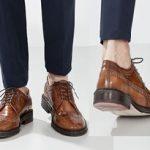 Purificación García, zapatos de hombre