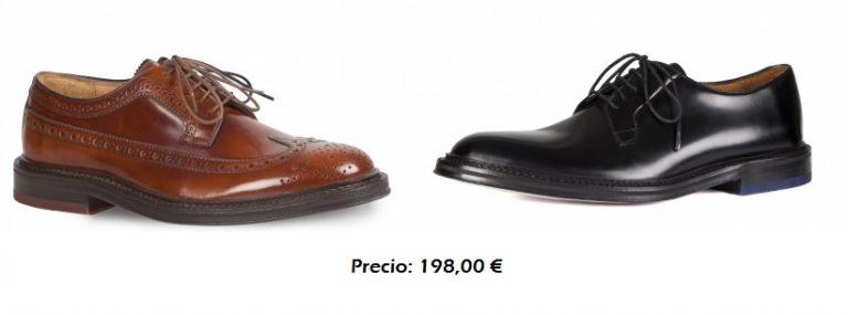 Dos modelos zapato ingles