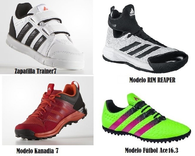 Modelos Adidas de PRICE SHOES