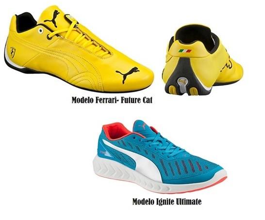 Modelos de zapatillas PUMA