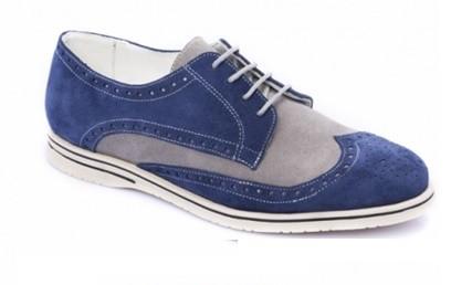 Modelo zapato sport tipo brogue