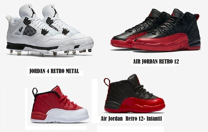 Modelos Michael Jordan