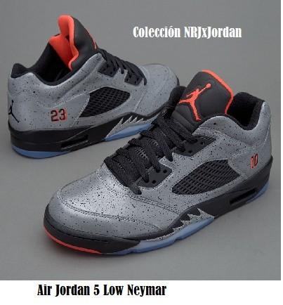 Modelo Air Jordan 5 Low Neymar