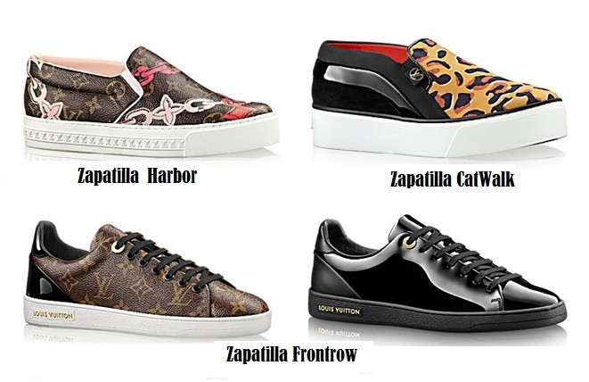 Zapatillas modernas Louis Vuitton