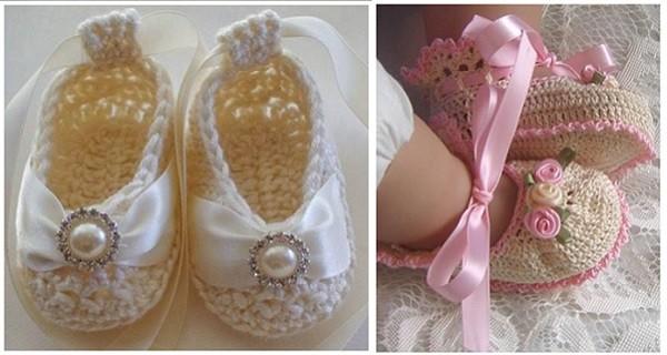 Zapatos tejidos para niñoa de vestir