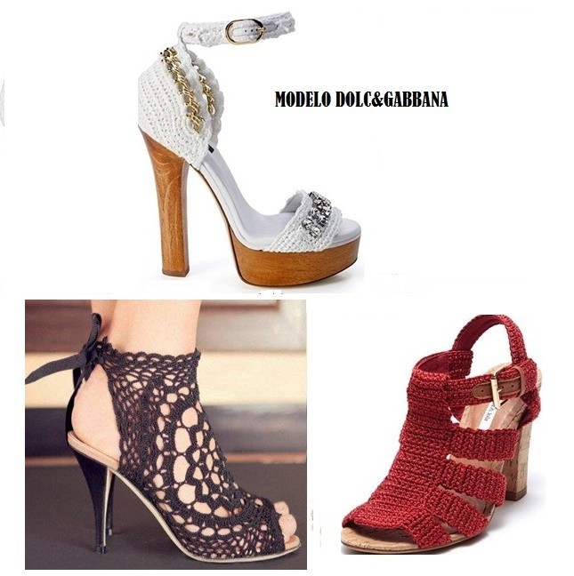 Zapatos tejidos para dama  Hermosos diseños  2019 zapatos de moda 4f316f545018