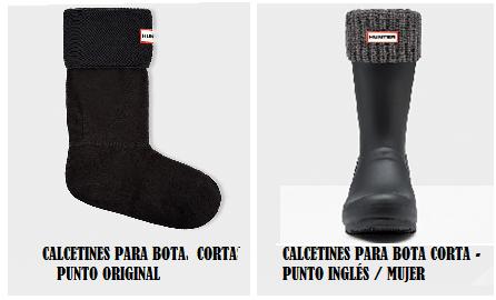 Calcetines para bota corta