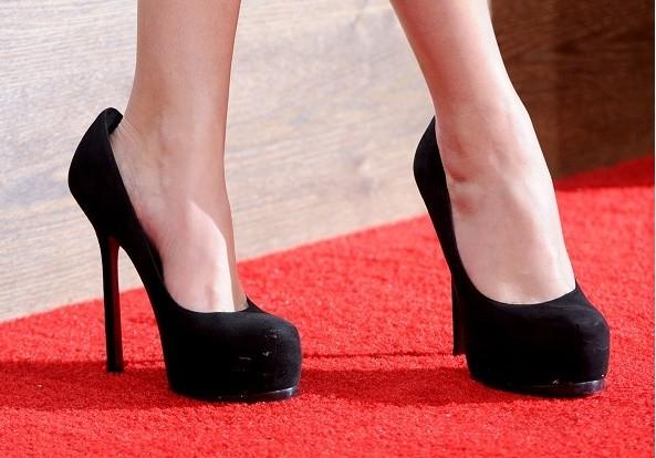 Zapatos ajustados al pie