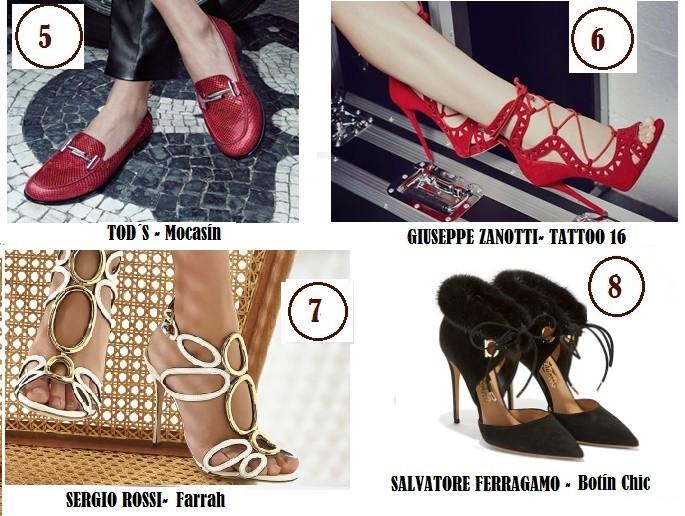 Diseños de zapatos mujer más solicitados