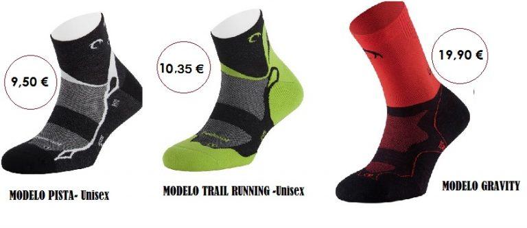 Modelos calcetines running