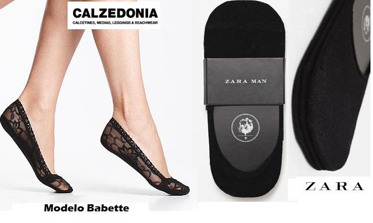 Calzedonia y Zara para comprar calcetines baratos
