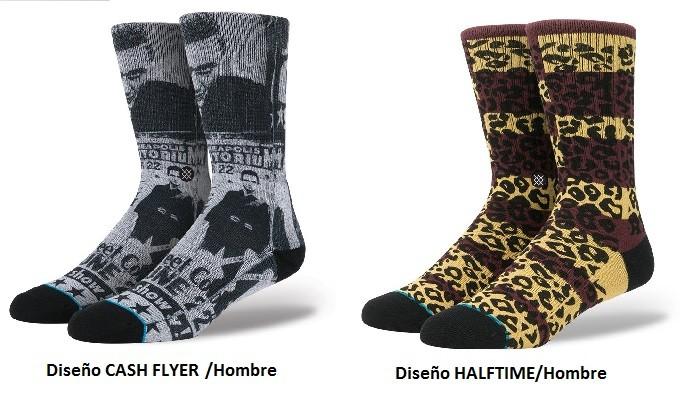 Nuevos diseños calcetines hombre