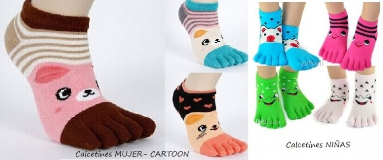 Calcetines con Cartoon