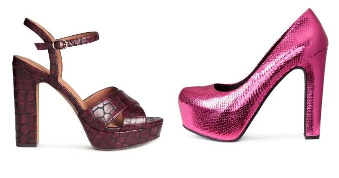Dos diseños de moda con textura tipo serpiente