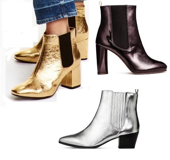 Botines H&M con diseños de moda