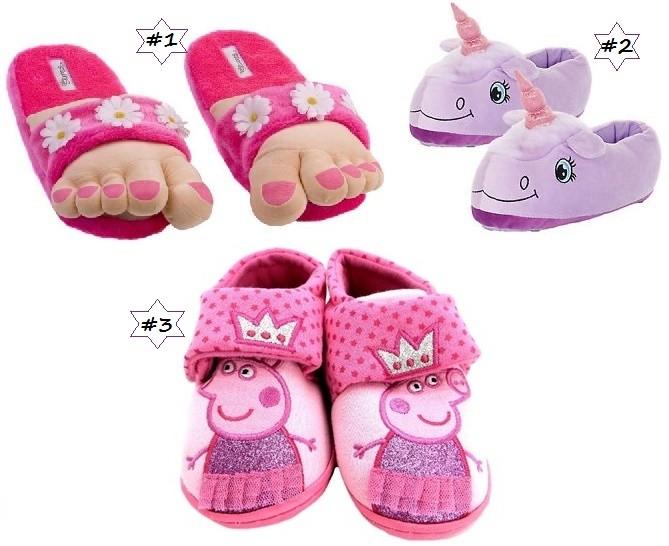 69e82698 Pantuflas para niños: Los 10 diseños más divertidos! 【2019】zapatos ...