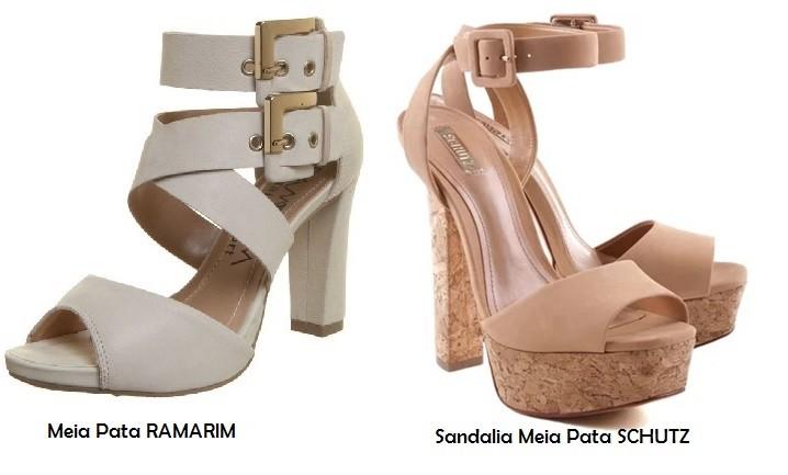 Sandalias de tacón MEIA PATA