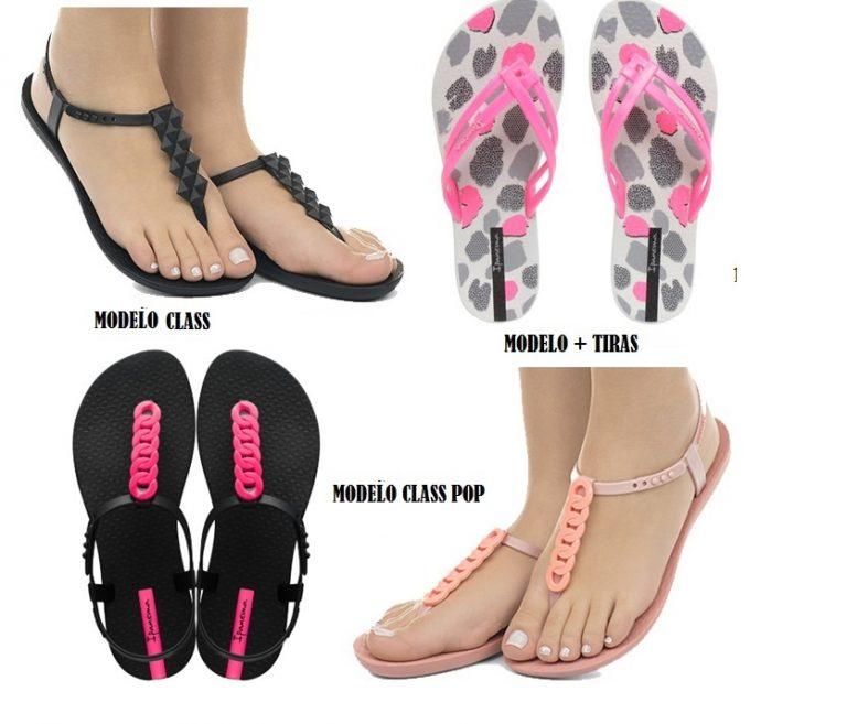 5f500253b 3 modelos sandalias de dedo con pies al desnudo. 3 Novedades en diseños  IPANEMA